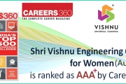 Ranked as AAA+ by Careers 360