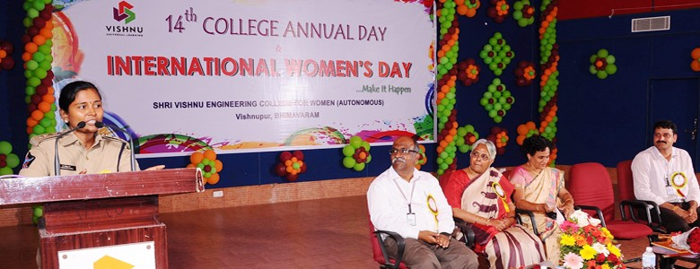 14th College Annual Day & International Womens Day Celebrations..