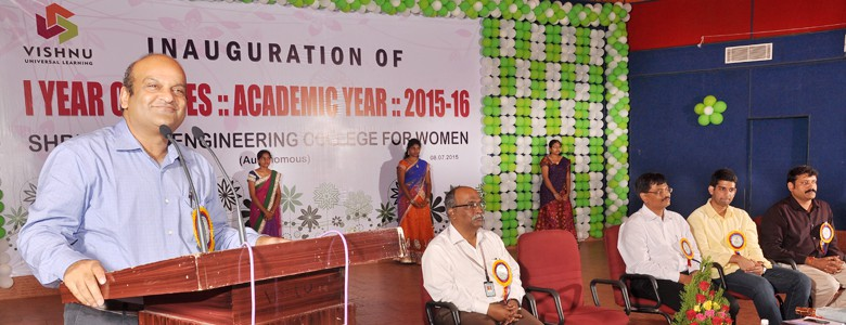 Inauguration of I Year Classes :: Academic Year :: 2015-16.