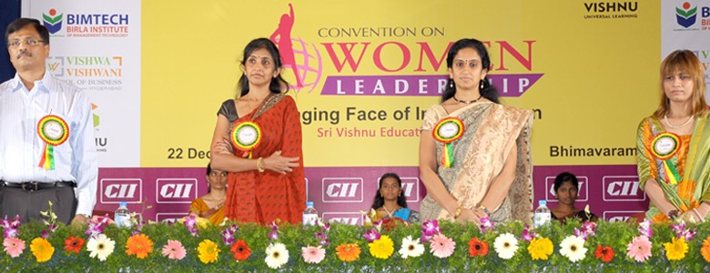 Women Prowess at convention on Women Leadership.