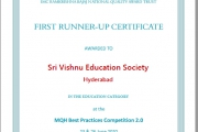 IMC Ramkrishna Bajaja National Quality Awards.