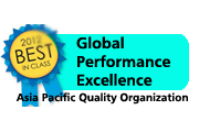 Global Performance Excellence Award by APQO